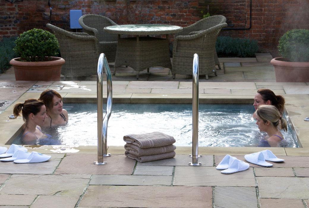 Weavers' House Spa Vitality Pool at The Swan at Lavenham