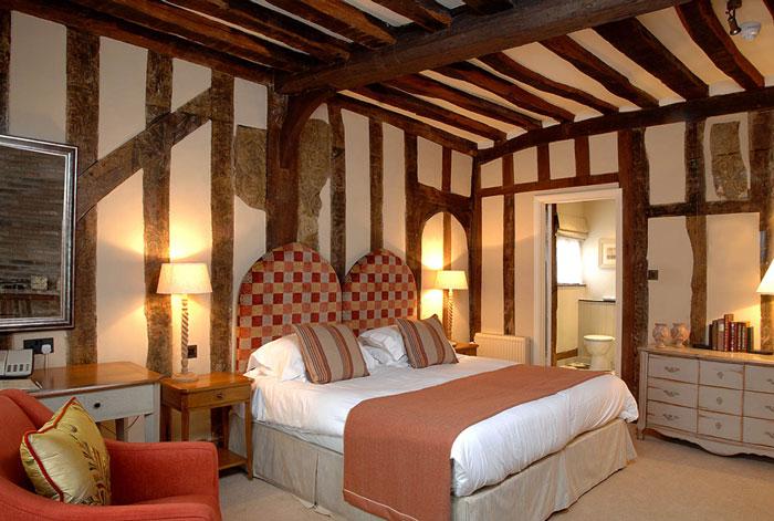 Bedroom, Swan at Lavenham, hotel, spa
