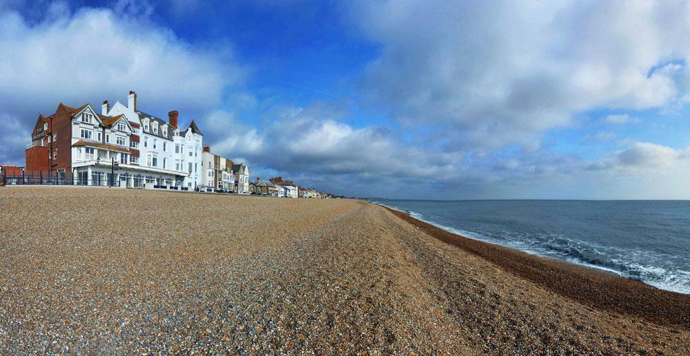 Brudenell Hotel, Aldeburgh, Suffolk, Coast, beach