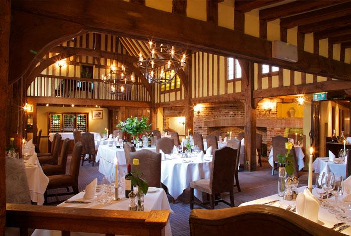Gallery Restaurant, The Swan at Lavenham