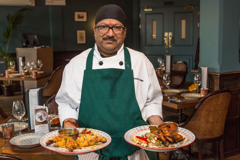 Sea Spice Head Chef Pratap Singh-Rawat